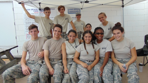 Cape Coast Conference JROTC Volunteers