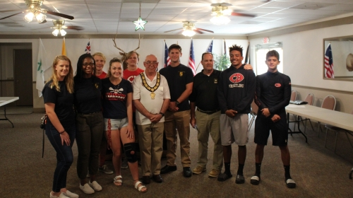 Cocoa Beach ELKs Supporting our JROTC 11 September '19