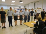 The final decision for the first Cadet of the Month