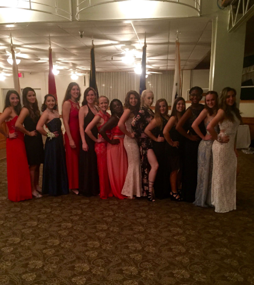 Girls Raider Team Military Ball 2017